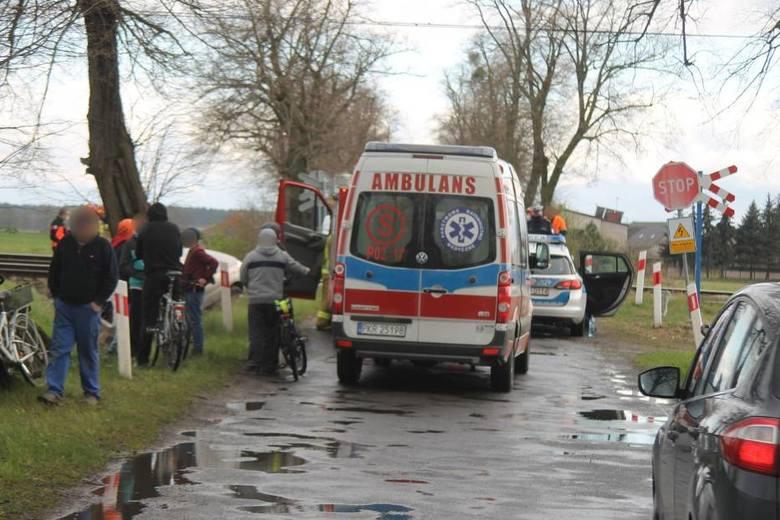 Na miejscu działały dwa zastępy z Jednostki-Ratowniczo Gaśniczej Państwowej Straży Pożarnej w Krotoszynie, zastęp Ochotniczej Straży Pożarnej w Biadkach,