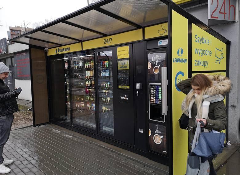 Sieć sklepów spożywczych Lewiatan uruchomiła pierwszy automatyczny sklep bezobsługowy, czynny 24 godziny na dobę i siedem dni w tygodniu, w tym w każdą