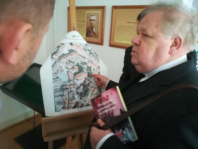Ks. kanonik Włodzimierz Lange uważa, że pomnik ks. Michalskiego powinien stanąć obok konkatedry
