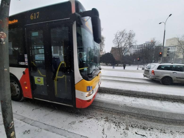 Zima w Gorzowie.