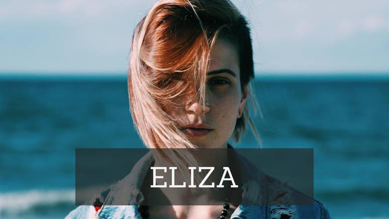 Eliza, kobieta o niespokojnym charakterze, często dość impulsywna. Cięty język i brak zahamowań - to najczęściej wymieniane wady pań o tym imieniu.
