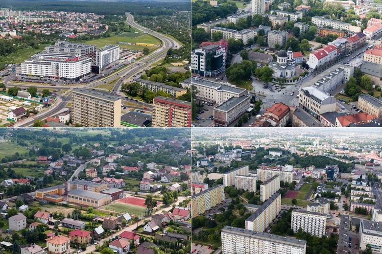 Na którym osiedlu Białegostoku chciałbyś mieszkać? - takie pytanie zadaliśmy Internautom. Zobaczcie ile procent głosów otrzymały poszczególne dzielnice.