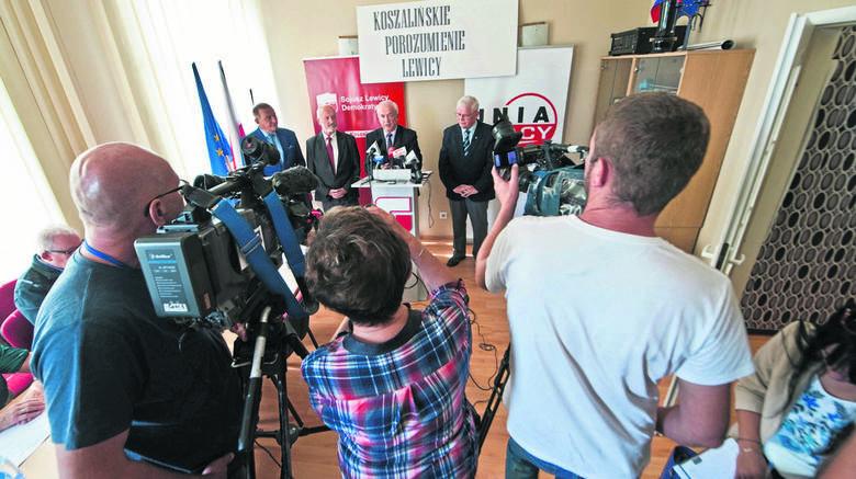 - Mamy gotowy program. Opiera się on na pięciu filarach - mówił  wczoraj Jerzy Zaroda, kandydat Koszalińskiego Porozumienia Lewicy na prezydenta Kos