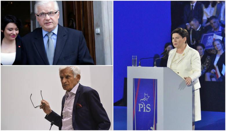 Zestawienie kandydatów z najlepszymi wynikami zdominowali przedstawiciele dwóch największych ugrupowań - Prawa i Sprawiedliwości i Koalicji Europejskiej.
