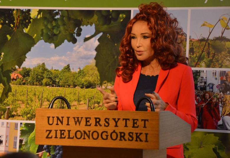 Ewa Minge na Forum Przemysłów Kreatywnych w Zielonej Górze