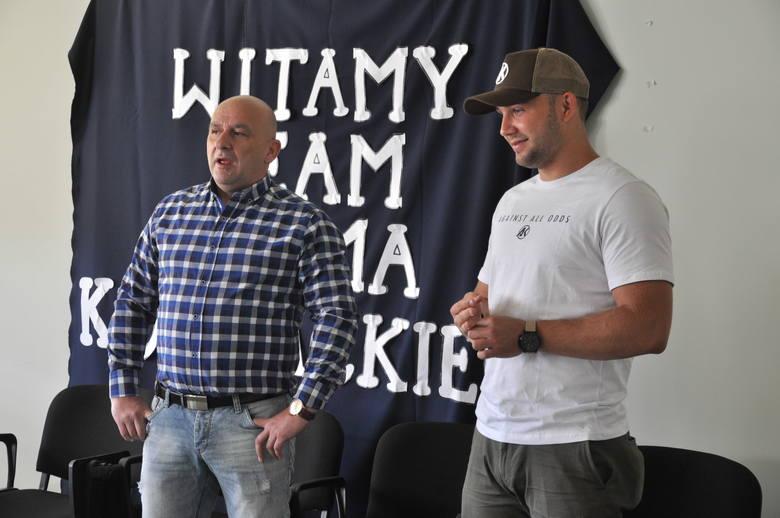 Spotkanie z Łukaszem Kownackim było jedynie wstępem do dalszej współpracy