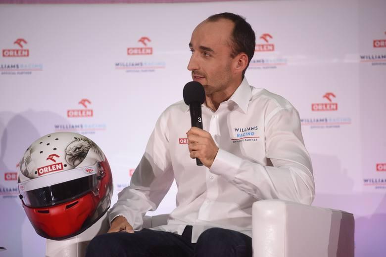 - Robert Kubica będzie na okładce polskiej edycji Formuły1 2019 i to dla nas olbrzymie zaskoczenie, olbrzymie wyróżnienie i w końcu olbrzymi plus.