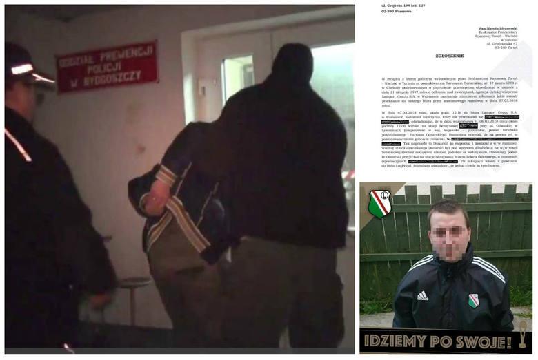 Podejrzany o skatowanie  szczeniaka Fijo Bartosz D. z Chełmży zatrzymany został przez funkcjonariuszy KWP Bydgoszcz. Nastąpiło to 9 marca w Ostaszewie,