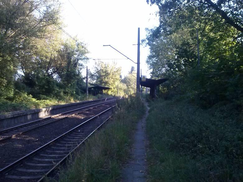 W 1945 r. stację nazwano Szczecin Pogodno, jednak już po roku zmieniono nazwę na obecną – Szczecin Łękno.