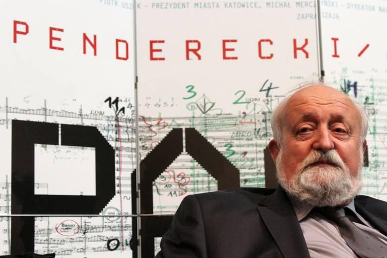 """Krzysztof Penderecki poprowadzi w Łodzi orkiestrę, która wykona jego kompozycję """"Credo"""""""