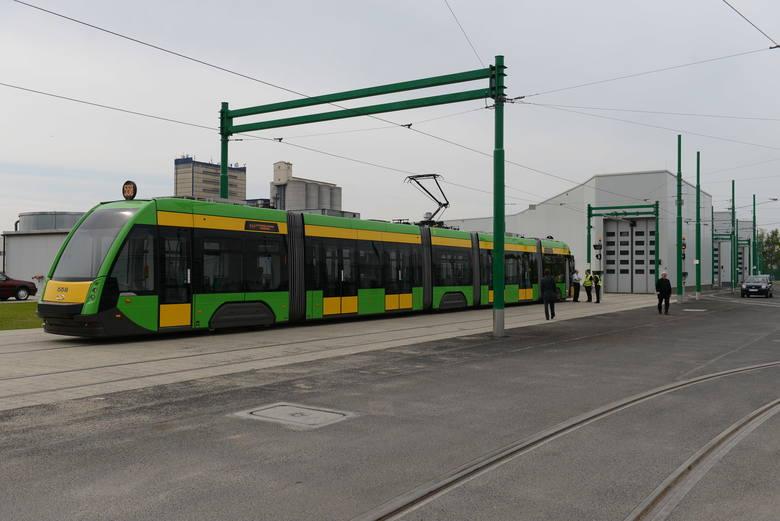 Zajezdnia tramwajowa na Franowie została otwarta w 2014 roku