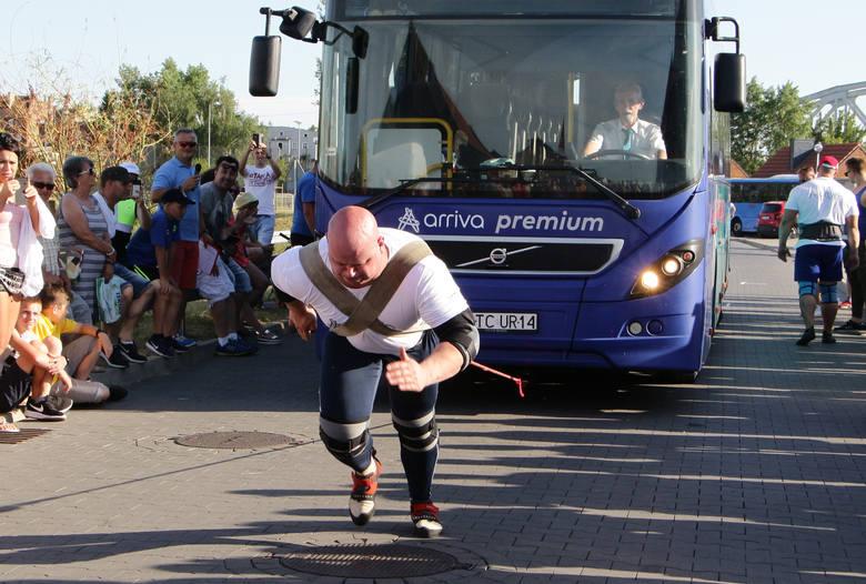 W grudziądzkiej Marinie odbyła się 3 edycja Pucharu Polski Strongman 2018. Zmagało się sześciu zawodników. Zawody prowadził  znany wszystkim Irek Bieleninik.