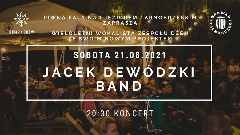 Jacek Dewódzki Band zagra w sobotę nad Jeziorem Tarnobrzeskim