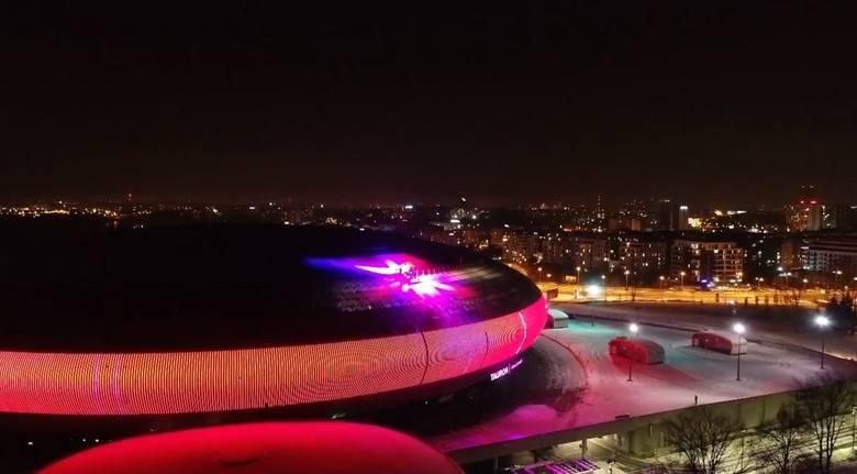 Tauron Arena w trakcie Światełka do Nieba