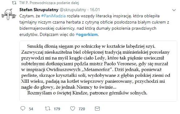 Cytaty Z Książki Magdaleny Ogórek To Hit Internetu Zdjęcia