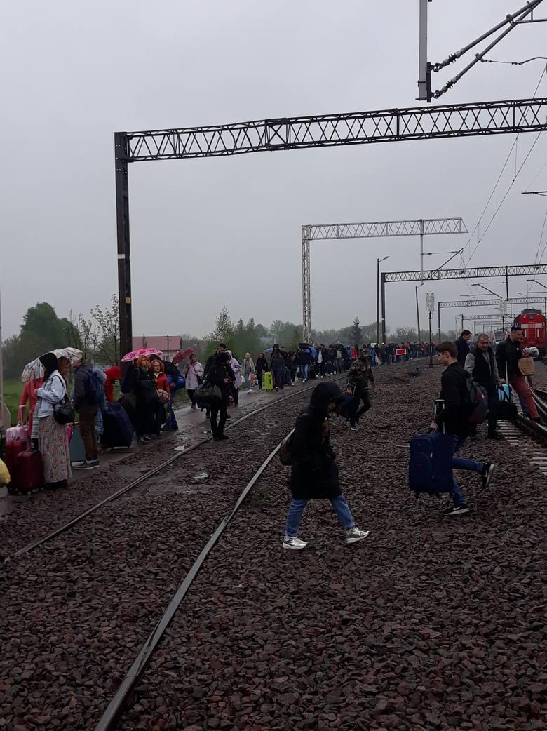 Podczas niedzielnej kontroli pociągu relacji Kijów-Przemyśl po polskiej stronie granicy, doszło do nietypowej sytuacji.- Służba celno-skarbowa znalazła