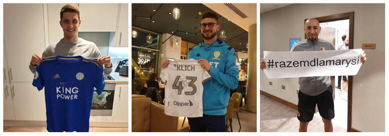 Bartosz Kapustka, Mateusz Klich, byli piłkarze Cracovii, włączyli się do akcji: Razem dla Marysi