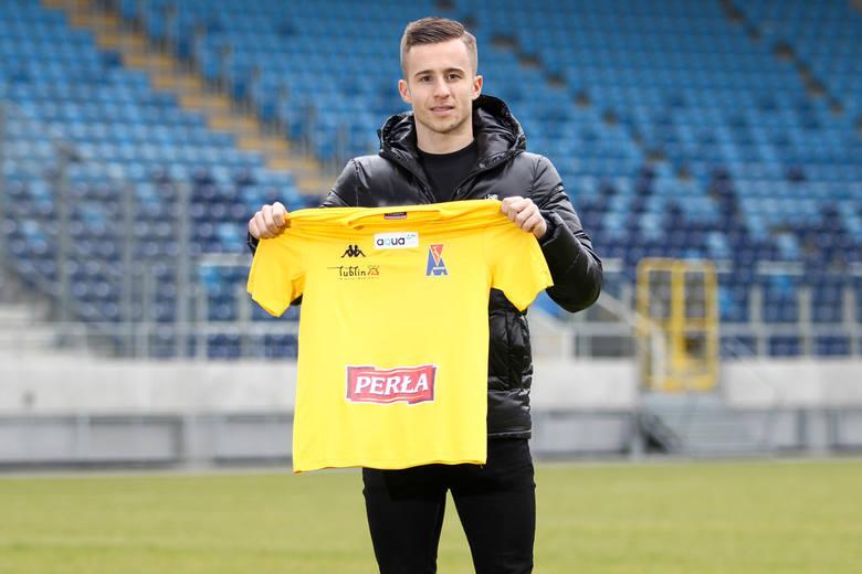 Motor Lublin ma kolejnego nowego zawodnika. To pomocnik Filip Wójcik