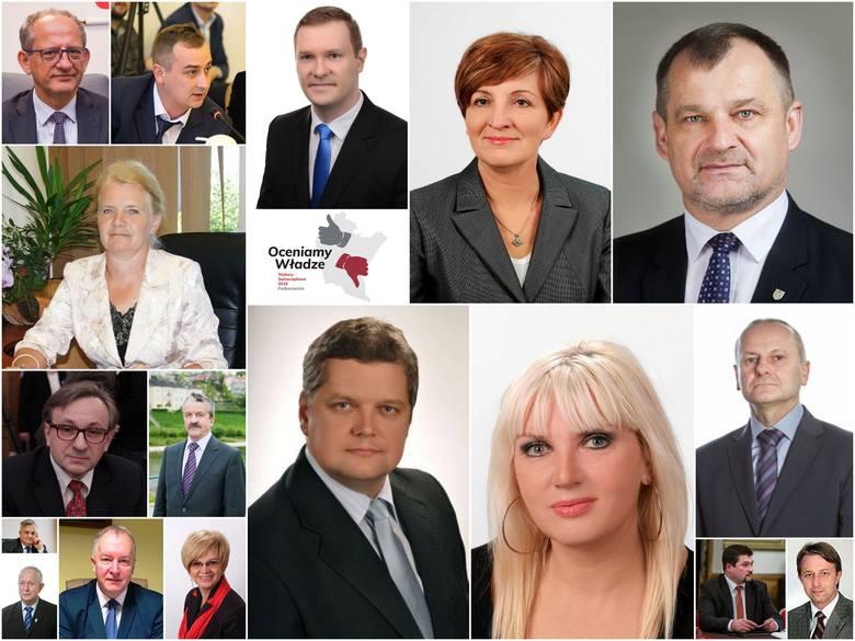 Najlepiej oceniani radni w akcji Samorządowiec Podkarpacia (dane z 14 września z godz.10:30)