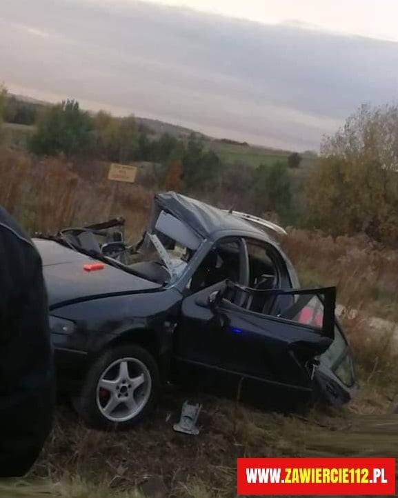 Tragiczny wypadek w Zawierciu: trzy osoby zginęły