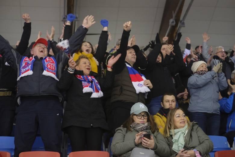 KH Energa Toruń wciąż bez sposobu na mistrza Polski w tym sezonie. Zobaczcie zdjęcia z lodowiska i trybun meczu z GKS Tychy.KH Energa Toruń - GKS Tychy