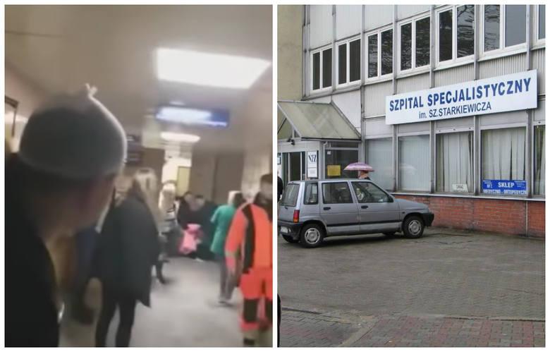 Skandal w SOR w Dąbrowie Górniczej. Kobieta zwija się z bólu i nikt jej nie chce pomóc WIDEO. Szpital w Dąbrowie potrzebuje zmian
