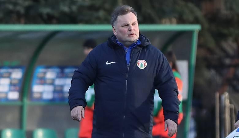 Tomasz Tułacz - trener Puszczy od sierpnia 2015 roku