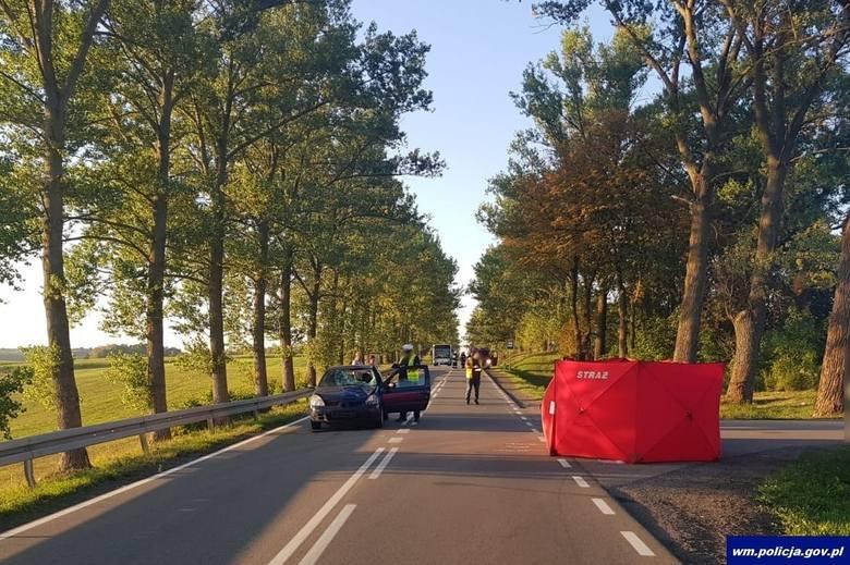 Wityny - Ełk: Śmiertelny wypadek. Policja poszukuje świadków zdarzenia [ZDJĘCIA] 10 września 2019