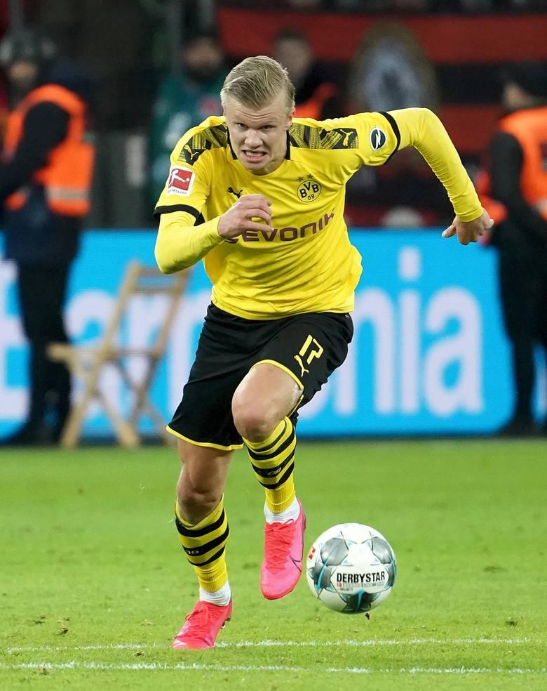 1. kolejka (17.09.2019)Red Bull Salzburg - Genk 6:2 (trzy gole)Haaland zimą przeszedł do Borussii Dortmund.