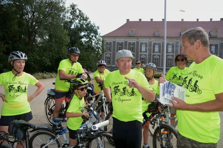 """Pod hasłem """"Power Rower w Żaganiu"""" w sobotę, 6 lipca, odbył się festyn rekreacyjno–sportowy poświęcony dwóm kółkom. To kolejny element programu – """"Wakacje"""