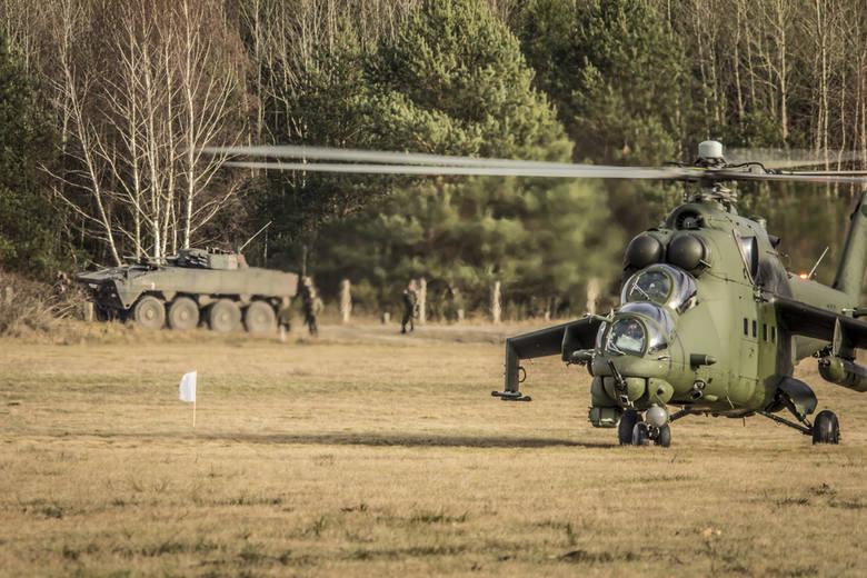 We wtorek (27 stycznia) na pasie taktycznym w Trzemesznie Lubuskim oraz w centralnym ośrodku zurbanizowanym na terenie ośrodka szkolenia poligonowego