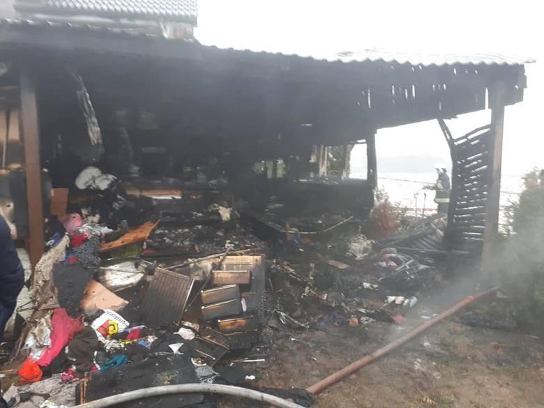 W piątek, około godz. 13.30 w miejscowości Łupianka Stara doszło do pożaru.