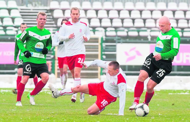 Drużyna ŁKS przegrała już osiem spotkań i na trzy kolejki przed końcem rundy jesiennej I ligi zajmuje przedostatnie miejsce w tabeli.