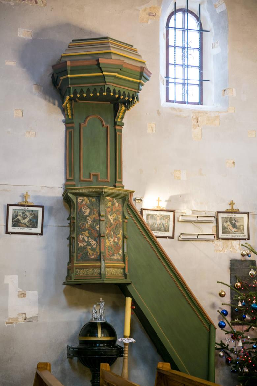 Kościelna ambona powstała około roku 1500
