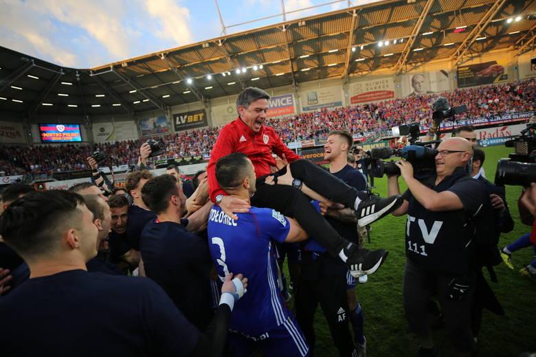Trener Waldemar Fornalik: Momy majstra! Pokazaliśmy, że tytuł mistrza Polski nie jest przypisany tylko najbogatszym klubom