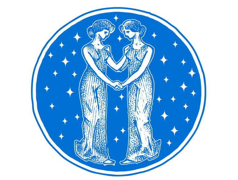 Bliźnięta (23 maj - 21 czerwiec) Gwiazdy obdarują Bliźnięta świetną kondycją i siłą psychiczną. Będą mogły góry przenosić. W tym miesiącu Bliźnięta wiele