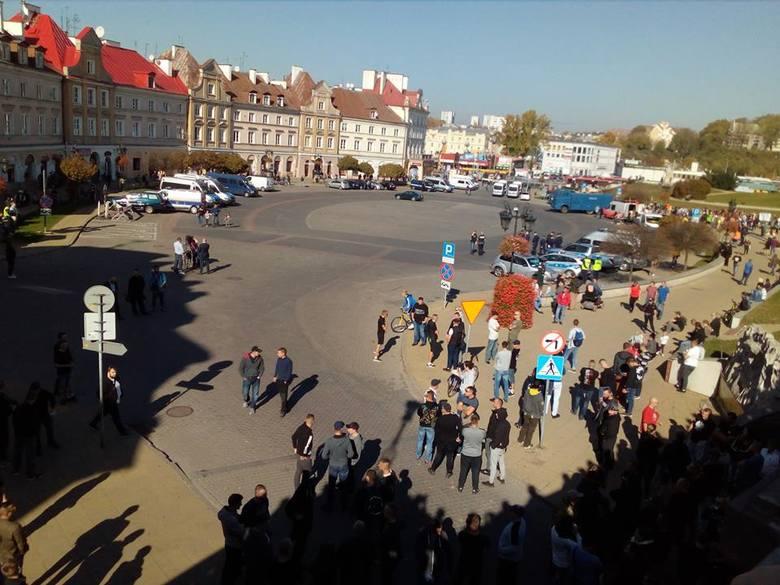 Marsz Równości w Lublinie. Relacja z przejścia uczestników marszu ulicami miasta (ZDJĘCIA, WIDEO)