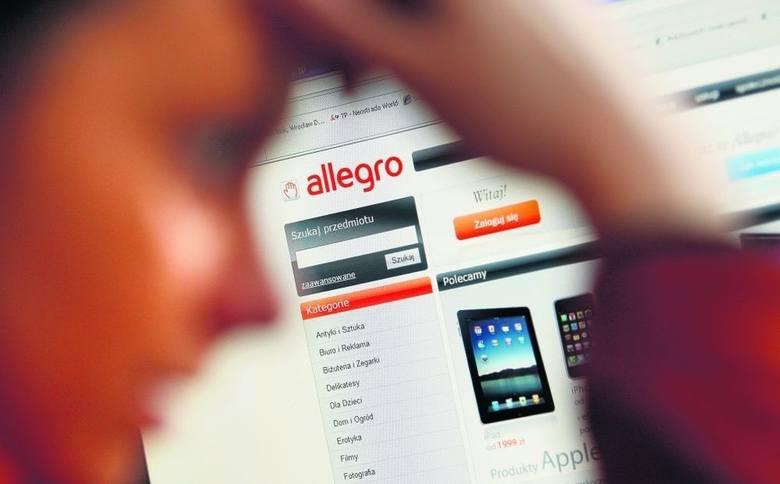 Włamał się na konto w Allegro i sprzedał fikcyjnego laptopa