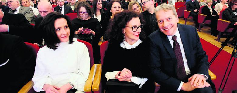 Zaszczycili nas także Alicja Knast, dyrektor Muzeum Śląskiego, oraz Wojciech Saługa, marszałek województwa śląskiego, z małżonką