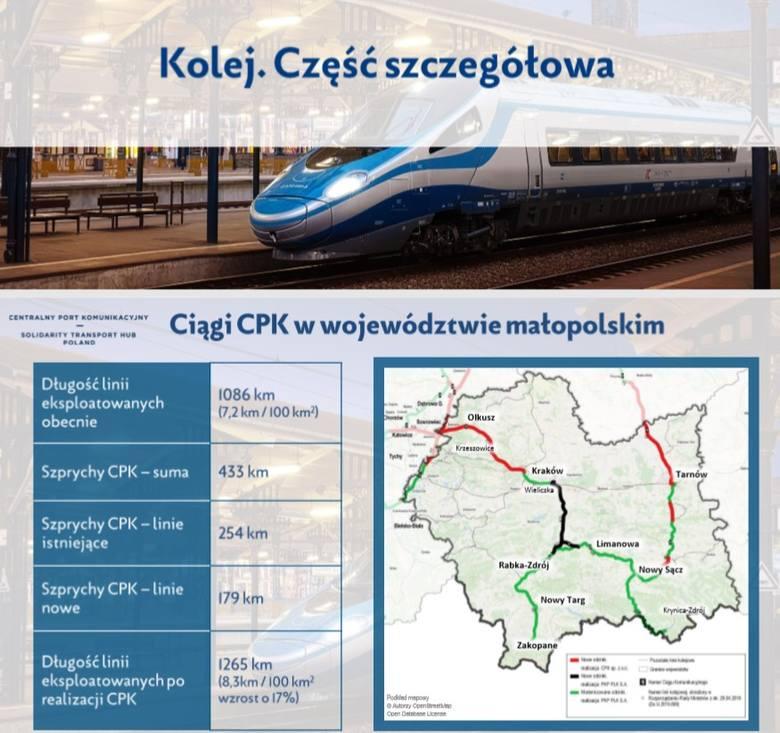 Rząd obiecuje budowę szybkich połączeń kolejowych w Małopolsce i całym kraju. Ale kiedy? Najpierw lotnisko pod Baranowem