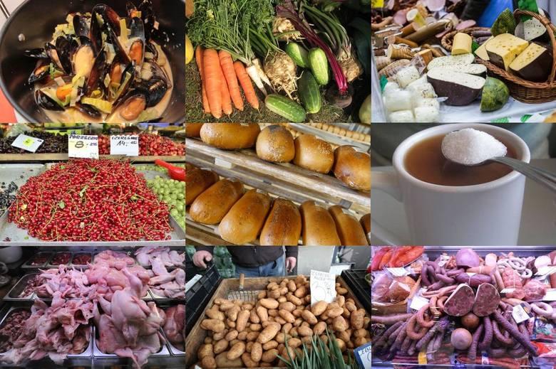 Warzywa, mięso czy ziemniaki? Czego jemy najwięcej w ciągu miesiąca? Znamy odpowiedź na to pytanie Przeciętne miesięczne spożycie wybranych artykułów