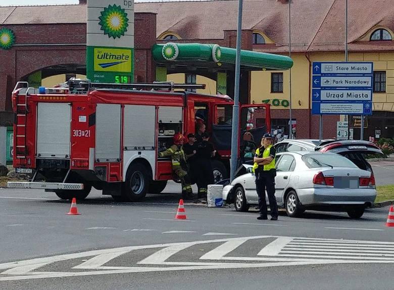 Skrzyżowanie ulic Granicznej, Spichrzowej i Sikorskiego to miejsce doskonale znane kostrzyńskim strażakom i policjantom. Regularnie dochodzi tutaj do