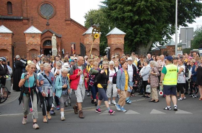 Pielgrzymi wyruszyli 6 sierpnia.