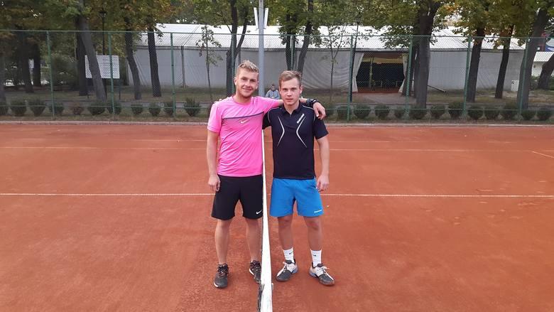 Rafał Teurer i Aleksander Woźnicki