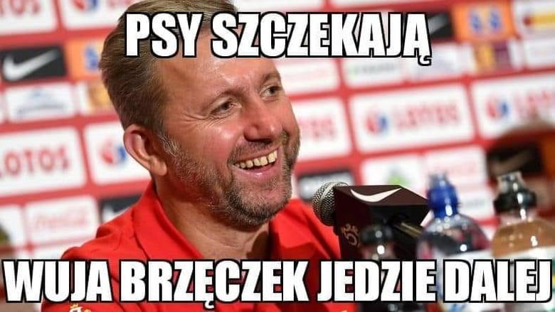 Memy o meczu Macedonia Północna - Polska 0:1