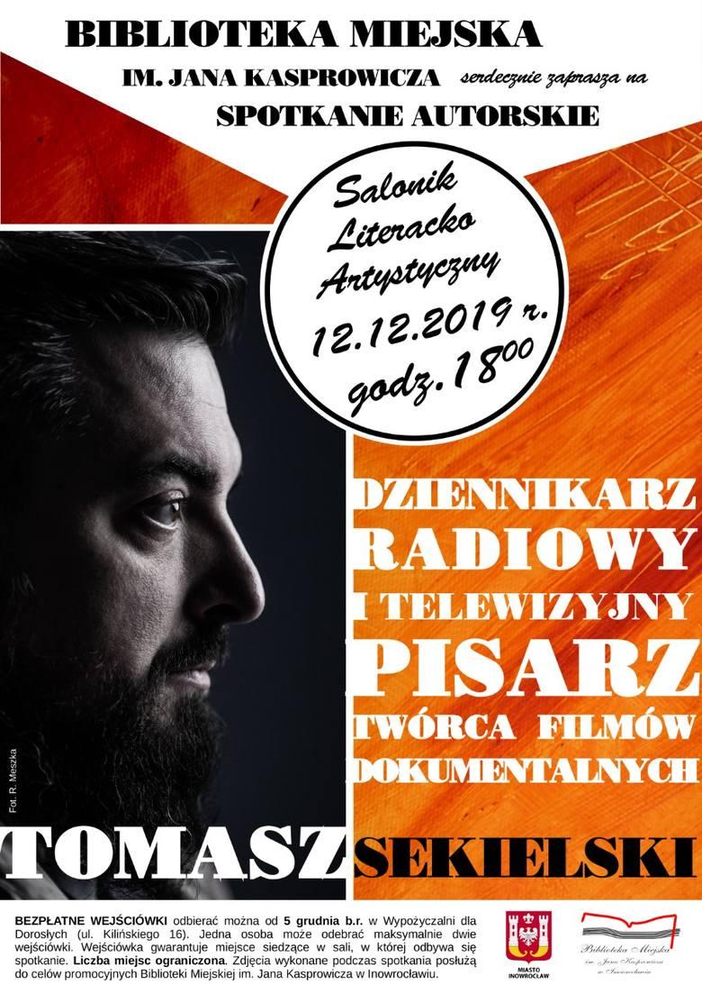 Tomasz Sekielski przyjedzie do Inowrocławia. Jak zdobyć wejściówkę na spotkanie?