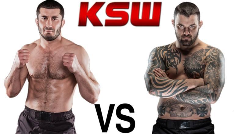 KSW 33: Mamed Chalidow vs Michał Materla. Transmisja online walki. Stream PPV w Internecie