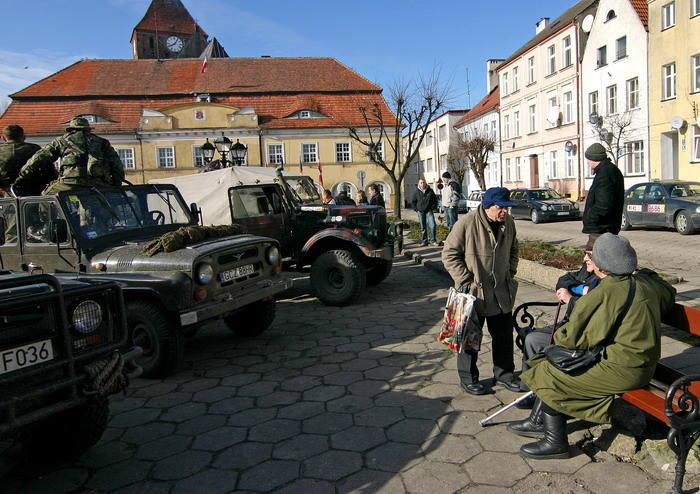 III Zimowy Zlot Historycznych Pojazdów Wojskowych w Darlowie.