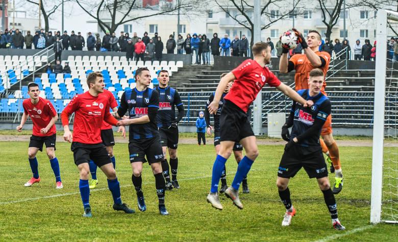 Mecz Chemik Moderator - Zawisza Bydgoszcz był jednym z nielicznych jakie udało się rozegrać w rundzie wiosennej.