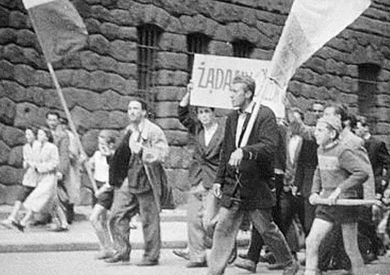 """""""Poznań 56"""" - film historyczny z 1996 roku w reżyserii Filipa Bajona."""